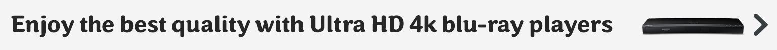 Ultra HD 4K Blu Ray Players