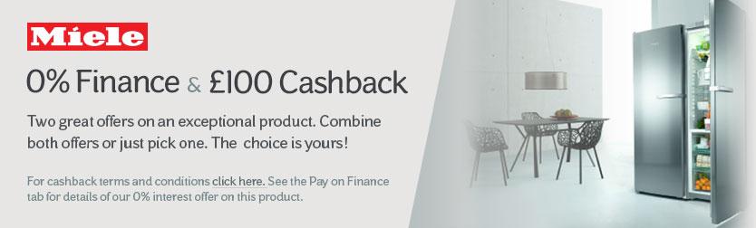 0% Finance & £100 Cashback