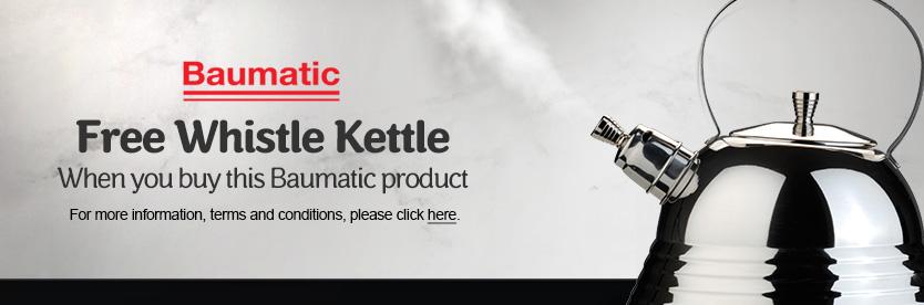 Baumatic Free Whistle Kettle