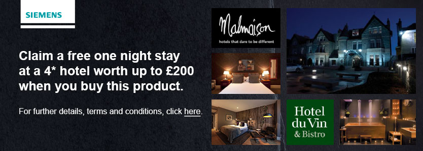 Free one night stay at a 4* hotel