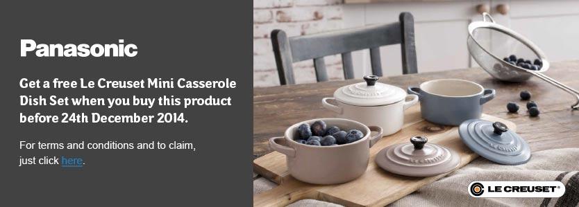Free Le Creuset Mini Casserole Dish Set