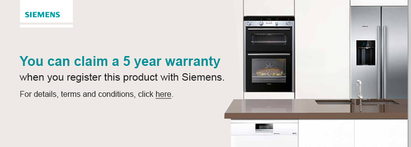 Siemens5YearWarranty