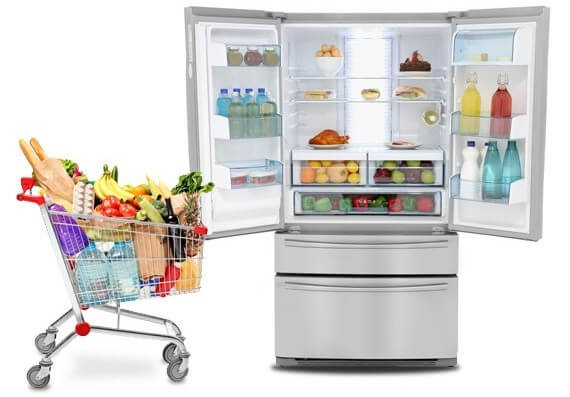 Samsung Rfg23uers American Fridge Freezer 520ltr Ao Com