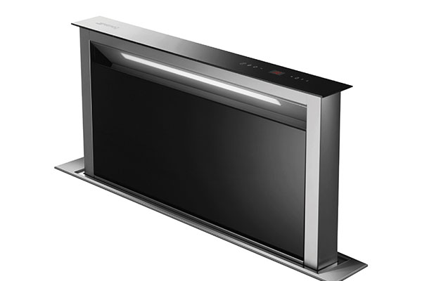 Downdraft cooker hood