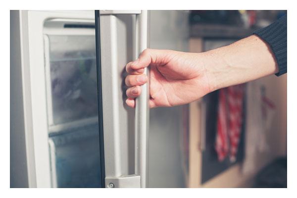 Removable magnetic door seals