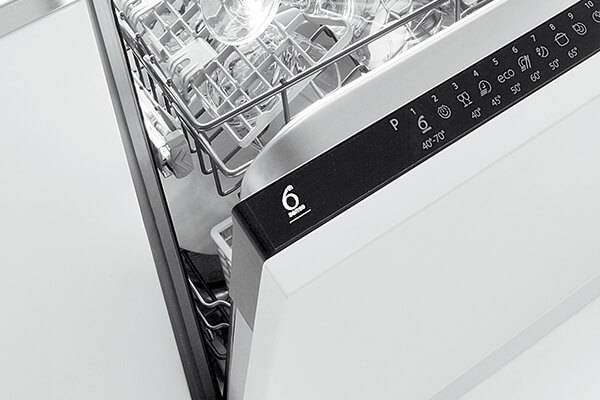 Dishwasher sensor wash