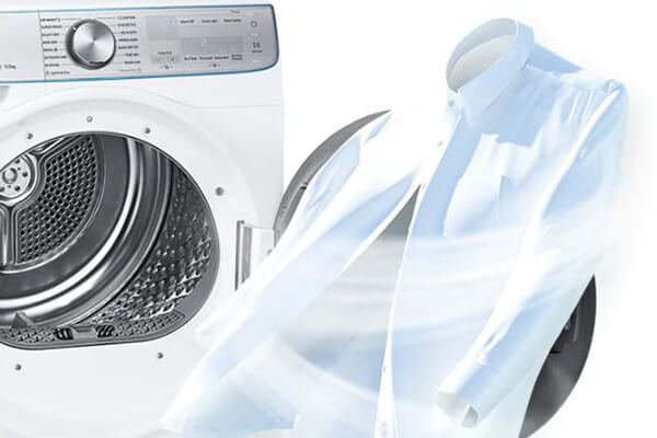 Samsung tumble dryer air wash feature