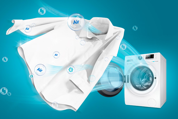 Samsung bubblesoak washing machine