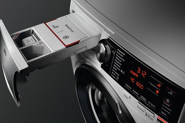 Washing machine autodosing